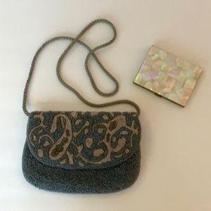 Vintage Genie Beaded Evening Bag